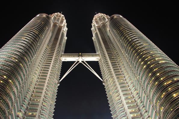 クアラルンプール「ペトロナス・ツイン・タワー(Petronas Twin Towers)」