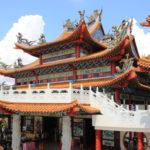 クアラルンプール 観光7 -天后宮- 鮮やかな中国寺院から市内が一望!