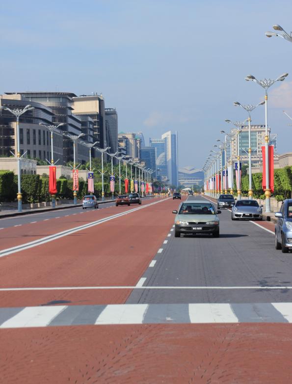 マレーシアの行政都市プトラジャヤ(Putrajaya)