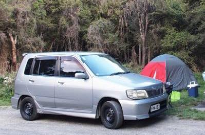 ニュージーランドでキャンプ