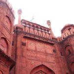 インド・デリー観光1【赤い城】世界遺産「ラールキラー・レッドフォート」