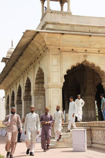 インド・オールドデリー・世界遺産ラール・キラー(Lal Qila)/レッド・フォート(Red Fort)