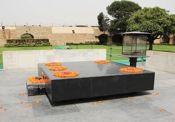 インド・デリー・ラージガート(ガンディーのお墓・Raj Ghat)