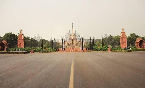 インド・デリーの大統領官邸(rashtrapati bhavan)