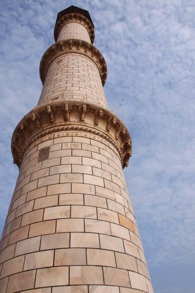 インドの世界遺産「タージマハル (Taj Mahal)」の尖塔