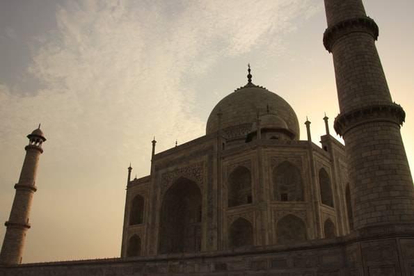 インドの世界遺産「タージマハル (Taj Mahal)」