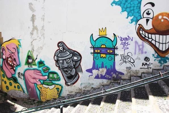 ポルトガル・リスボンのストリートアート・グラフィック