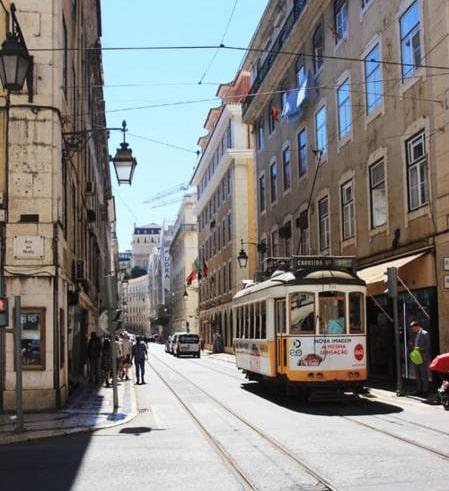 ポルトガル・リスボンのトラム
