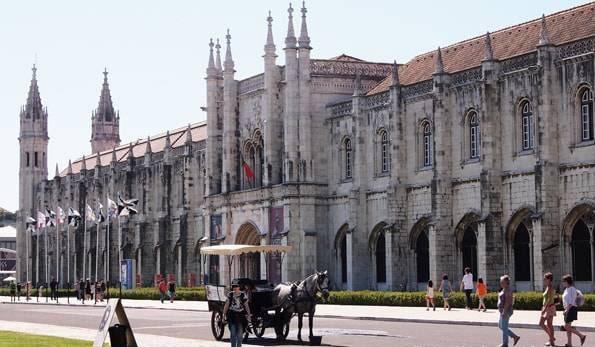 ポルトガル・リスボン・世界遺産「ジェロニモス修道院」-ベレン地区-