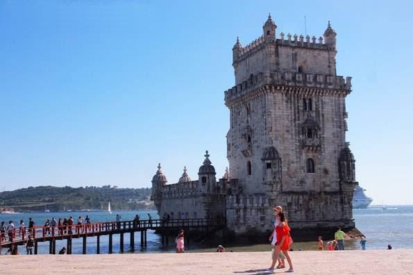 ポルトガル・リスボン・世界遺産「ベレンの塔(Torre de Belém)」-ベレン地区-