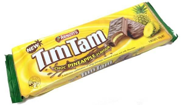 ティムタムTIMTAMチョコパイナップル(CHOC PINEAPPLE)