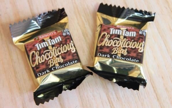 ティムタムTIMTAMダークチョコレート(チョコリシャス バイツ)
