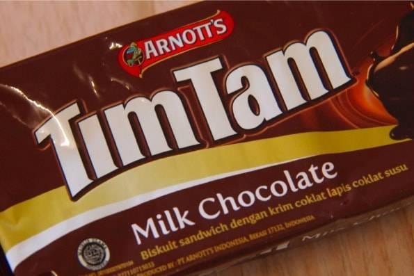 timtamインドネシア限定ティムタム・ミルクチョコレート(MILK CHOCOLATE)