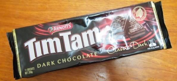 ティムタムTIMTAMダークチョコレート
