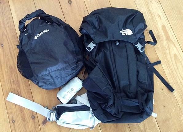 女子旅用のバックパック