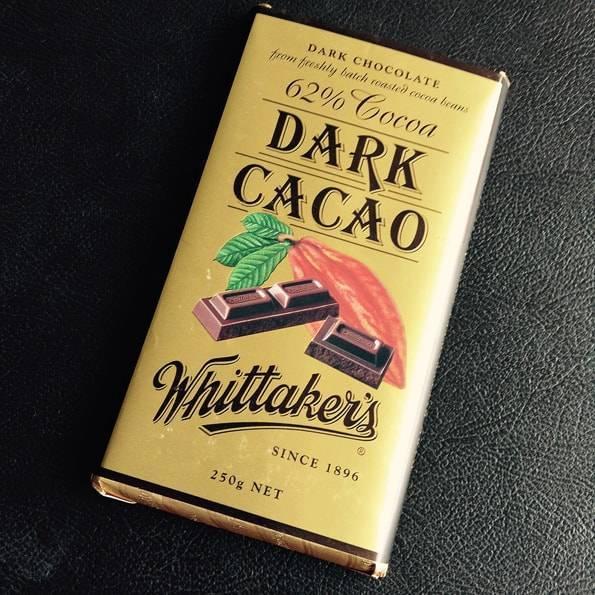 ウィッタカーズ(Whittaker's)ダークチョコレート