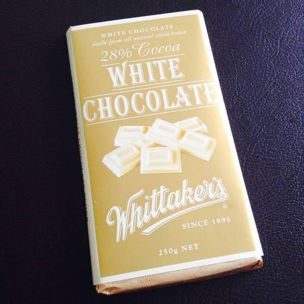 ウィッタカーズ(Whittaker's)ホワイトチョコレート