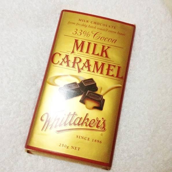 ウィッタカーズ(Whittaker's)ミルクキャラメルチョコレート