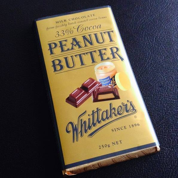 ウィッタカーズ(Whittaker's)ピーナッツバターチョコレート