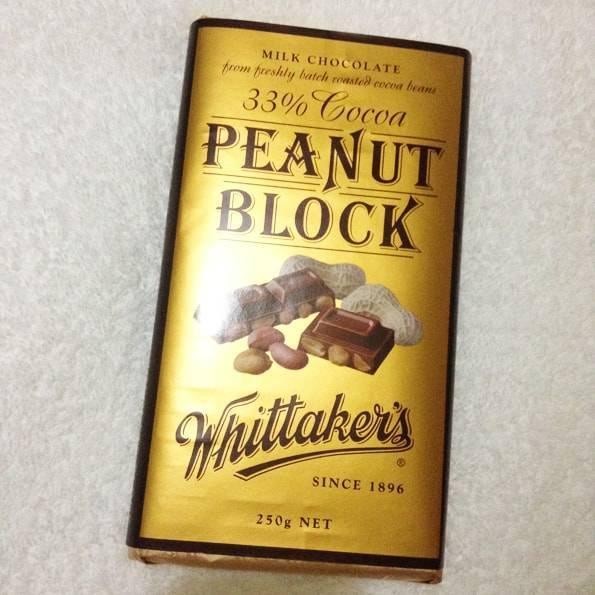 ウィッタカーズ(Whittaker's)ピーナッツチョコレート