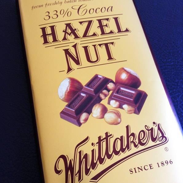 ウィッタカーズ(Whittaker's)ヘーゼルナッツチョコレート