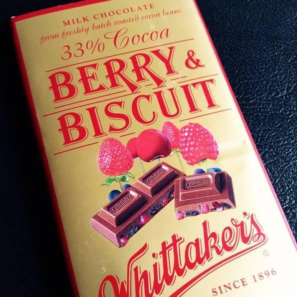 ウィッタカーズ(Whittaker's)ベリー&ビスケットチョコレート