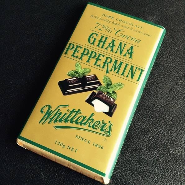 ウィッタカーズ(Whittaker's)ペパーミントチョコレート