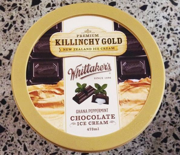 キリンチーゴールドアイスクリームとコラボ (Killinchy Gold × Whittaker's)