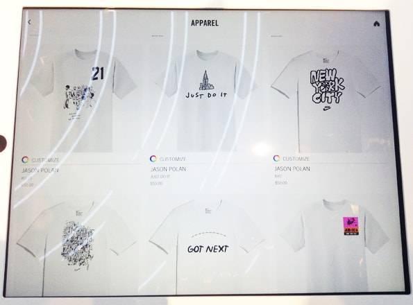 ナイキ ソーホー (NIKE SOHO)のカスタマイズTシャツ