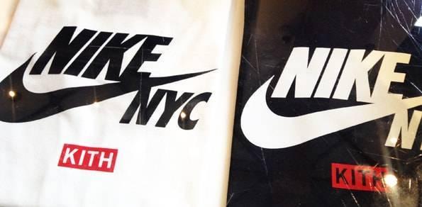 ニューヨークKITH限定 カスタマイズTシャツ
