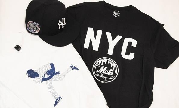 ニューヨークのニューエラキャップ・Tシャツ