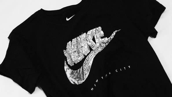 ナイキのニューヨーク限定Tシャツ