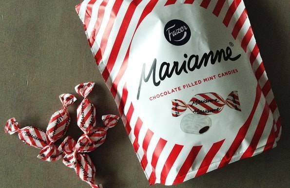 マリアンネ チョコレートフィルドミントキャンディー(Marianne Chocolate Filled Mint Candies)