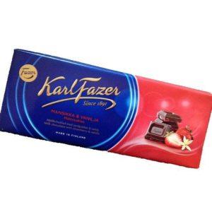 スーパーで買えるお土産【Fazerカールファッツェル】フィンランドの板チョコレート