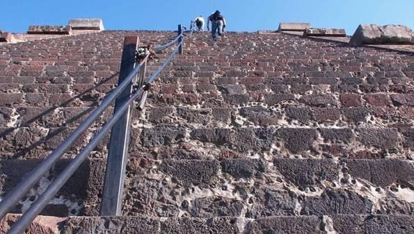 世界遺産「テオティワカン遺跡」月のピラミッド