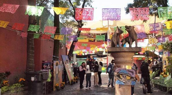 メキシコシティ・コヨアカン(Coyoacán)