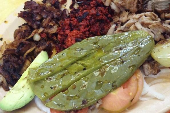メキシコシティで食べたサボテン