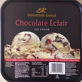 チョコレートエクレアアイスクリーム ニュージーランド