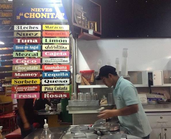 メキシコのアイスクリーム