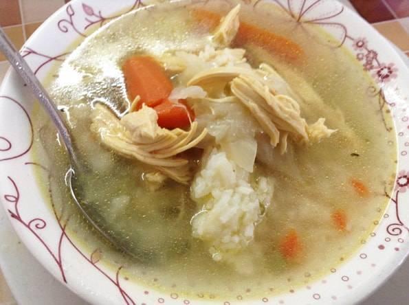 メキシコのスープ(ソパ・Sopa)