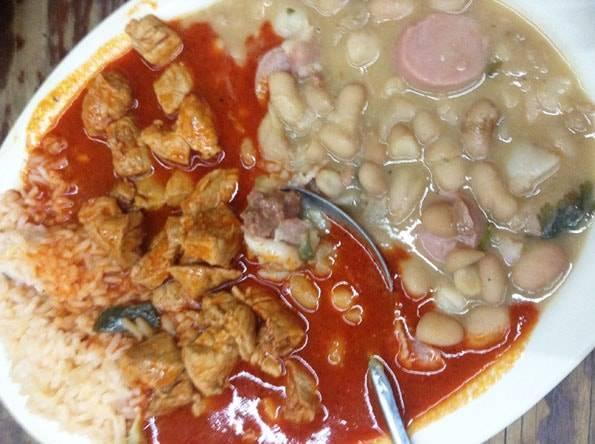 メキシコで食べた豆料理