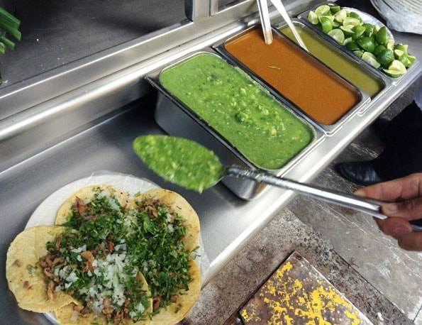 メキシコ料理タコス