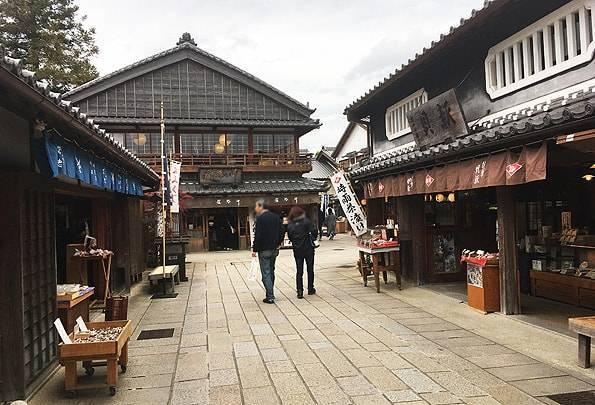 """三重県伊勢""""おはらい町&おかげ横丁"""""""