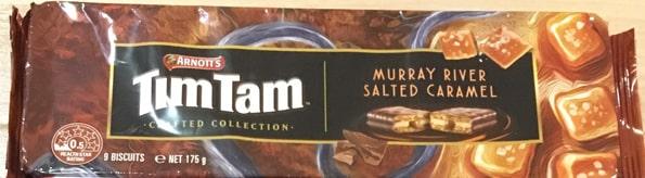 ティムタムTIMTAM塩キャラメル(Crafted Collection Murray River Salted Caramel)
