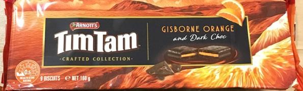 ティムタムTIMTAMオレンジ&ダークチョコレート(Crafted Collection Gisborne Orange & Dark Chocolate)