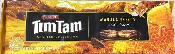 ティムタムtimtamマヌカハニー&クリーム(Crafted Collection Manuka Honey & Cream)
