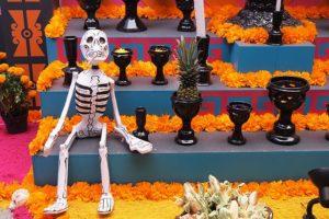 《死者の日》かわいいガイコツ仮装体験!メキシコシティ観光旅行記1
